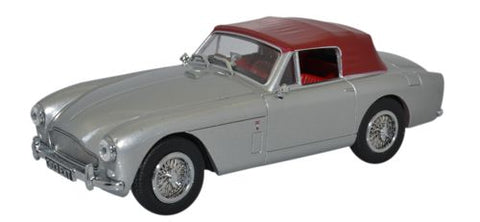 Oxford Diecast Aston Martin DB2 MKIII DHC Snow Shadow Grey