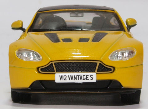 Oxford Diecast Aston Martin Vantage S Sunburst Yellow