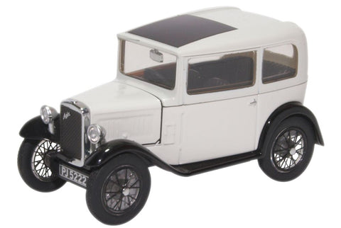 Oxford Diecast Austin Seven RN Saloon Light Grey