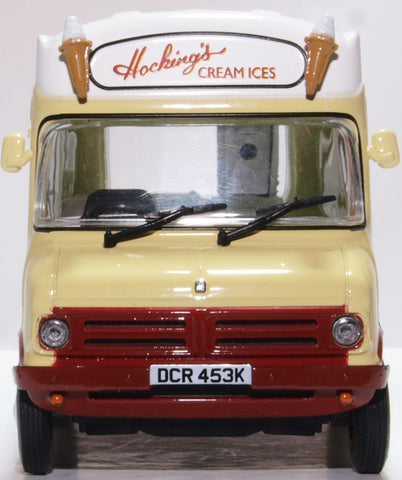 Oxford Diecast Bedford CF Ice Cream Van Morrison Hockings