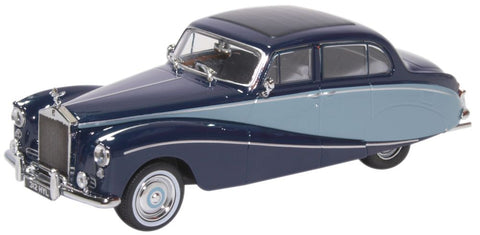 Oxford Diecast Rolls Royce Silver Cloud Hooper Empress Two Tone Blue