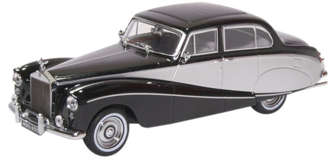 Oxford Diecast Rolls Royce Silver Cloud/Hooper Empress Black/Silver