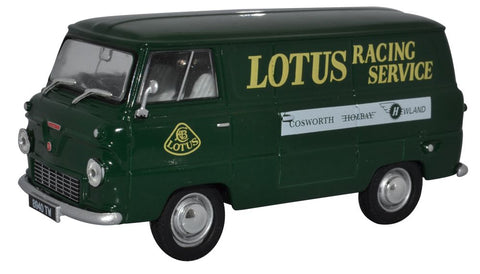 Oxford Diecast Ford 400E Van Lotus