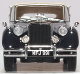 Oxford Diecast Jaguar MKV Closed Dark Blue/tan