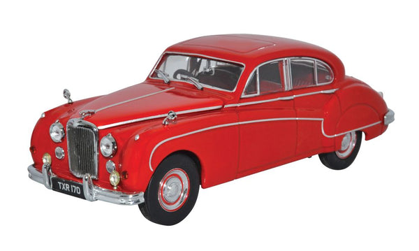 Oxford Diecast Jaguar MKVIII Carmen Red
