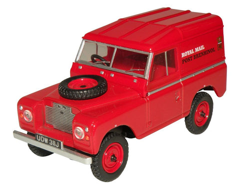 Oxford Diecast Land Rover Series IIA SWB Hard Top  Royal Mail