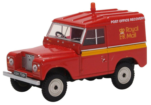 Oxford Diecast Land Rover Series IIA Hard Top Royal Mail Post Brehinol