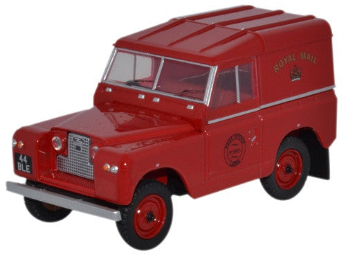 Oxford Diecast Land Rover Series II SWB Hard Back Royal Mail - 1:43 Sc