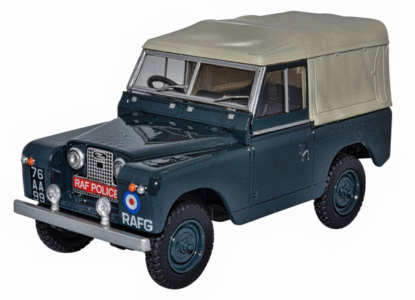 Oxford Diecast Land Rover Series II SWB Canvas RAF Police