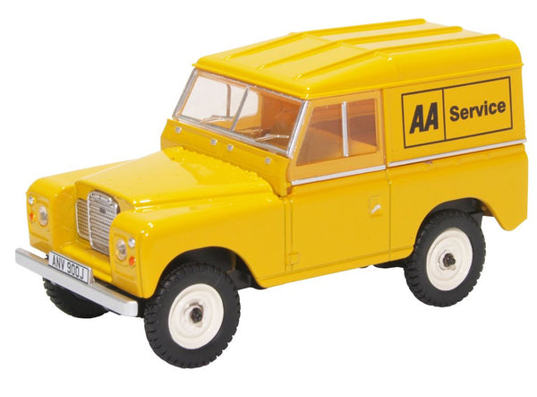 Oxford Diecast Land Rover Series III Swb Hard Top AA