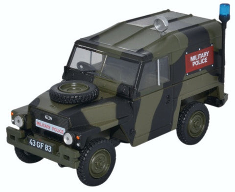 Oxford Diecast Land Rover 1/2 Ton Lightweight Military Police