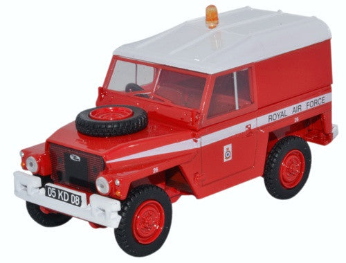 Oxford Diecast Land Rover 1/2 Ton Lightweight Raf Red Arrows