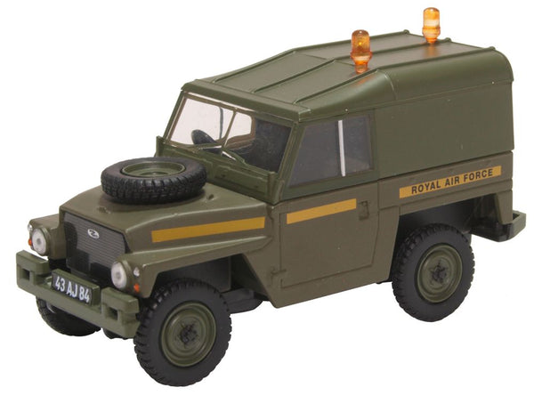 Oxford Diecast Land Rover Lightweight Hard Top RAF