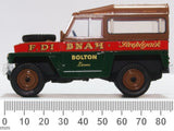 Oxford Diecast Land Rover Lightweight Hard Top Fred Dibnah