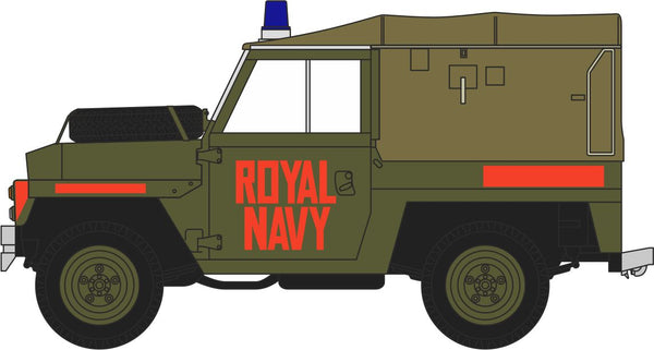 Oxford Diecast Royal Navy Land Rover Lightweight