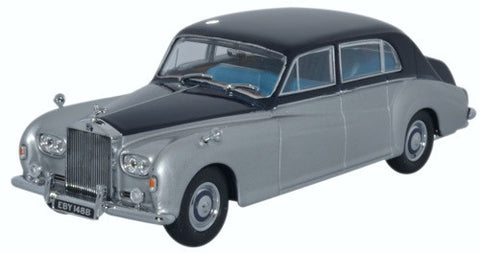 Oxford Diecast Rolls Royce Phantom V James Young Navy_Silver - 1:43 Sc