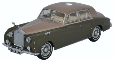 Oxford Diecast Rolls Royce Silver Cloud I Sand/Sable