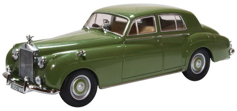 Oxford Diecast Rolls Royce Silver Cloud I Smoke Green