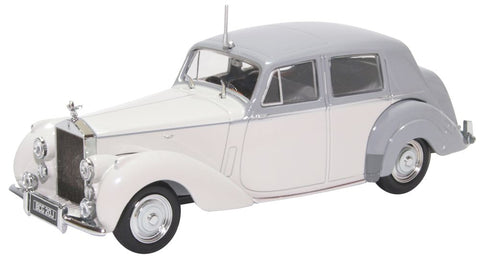 Oxford Diecast Rolls Royce Silver Dawn  Two Tone Grey