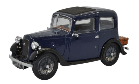 Oxford Diecast Austin Ruby Saloon Dark Blue