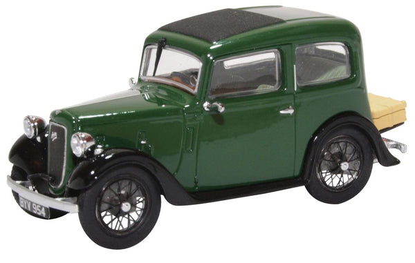Oxford Diecast Austin Ruby Saloon Dark Green