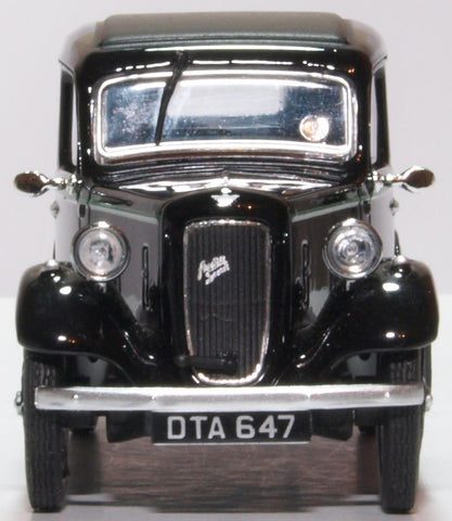 Oxford Diecast Austin Ruby Black