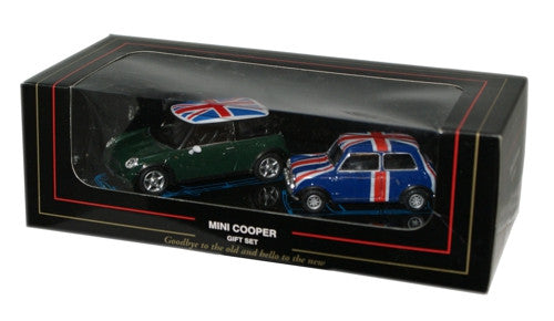 CARARAMA Twin Mini Set - 1:43 Scale - OxfordDiecast
