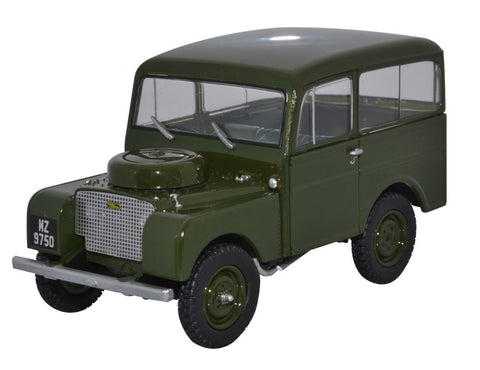 Oxford Diecast Land Rover Tickford Bronze Green