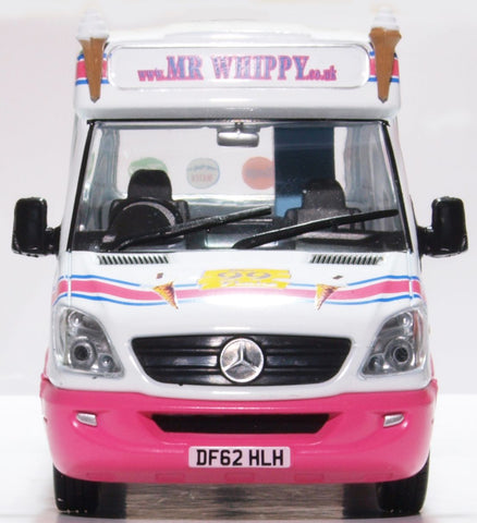Oxford Diecast Whitby Mondial Ice Cream Van Mr Whippy