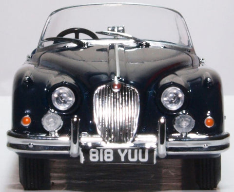 Oxford Diecast Jaguar XK150 Roadster Indigo Blue
