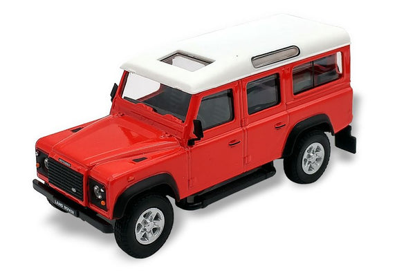 Cararama Land Rover Defender Red