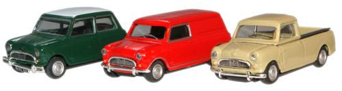 CARARAMA Mini Classic Car pack - 1:72 Scale - OxfordDiecast