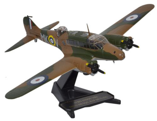 Oxford Diecast Avro Anson 500 Squad RAF 1940 1:72 Model Aircraft