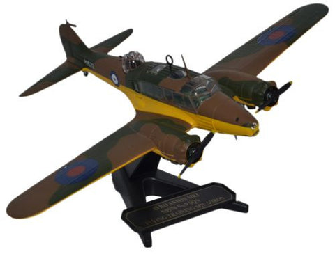 Oxford Diecast Avro Anson Flying Training Squadron 1:72 Model Aircraft