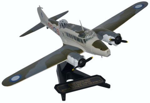 Oxford Diecast Avro Anson Squadron RAAF 1:72 Model Aircraft