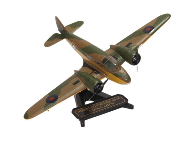 Oxford Diecast Airspeed Oxford Duxford 1:72 Model Aircraft