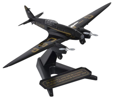 Oxford Diecast D H 88 Comet G-ACSP Black Magic 1:72 Model Aircraft