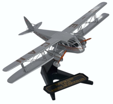 Oxford Diecast DH84 Dragon Railway Air Services 1:72 Model Aircraft