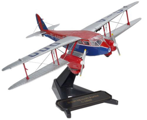 Oxford Diecast Prince of Wales Dragon Rapide 1:72 Model Aircraft