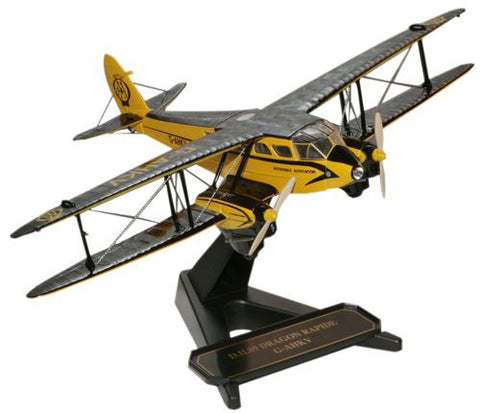 Oxford Diecast AA Dragon Rapide GAHKV 1:72 Model Aircraft