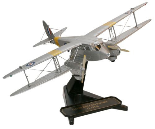 Oxford Diecast Classic Wings Duxford Dragon Rapide 1:72 Model Aircraft