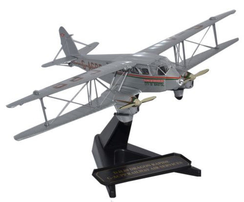 Oxford Diecast Dragon Rapide Railway Air Services 1:72 Model Aircraft