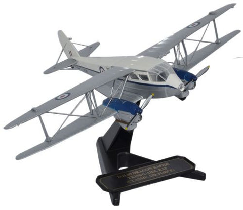 Oxford Diecast DH Dragon Rapide Classic Air Force 1:72 Model Aircraft