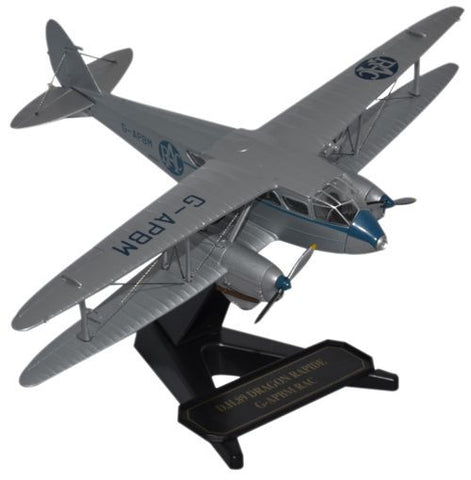 Oxford Diecast DH Dragon Rapide RAC Aerial Patrol 1:72 Model Aircraft