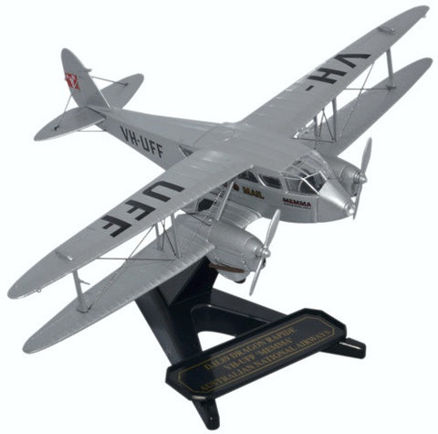 Oxford Diecast Dragon Rapide Australian National 1:72 Model Aircraft