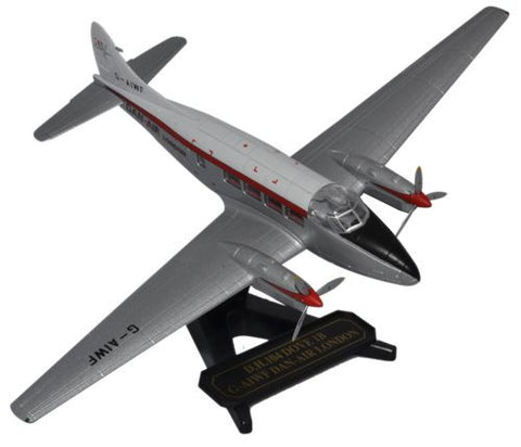 Oxford Diecast DH Dove Dan Air 1:72 Model Aircraft