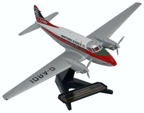 Oxford Diecast DH104 Dove G-AROI British Eagle 1:72 Model Aircraft