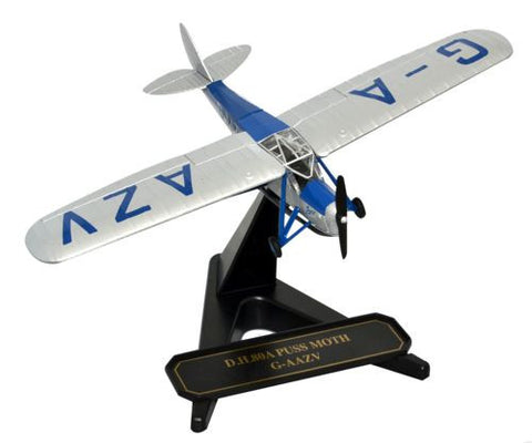 Oxford Diecast Amy Johnson Jason II Puss Moth 1:72 Model Aircraft