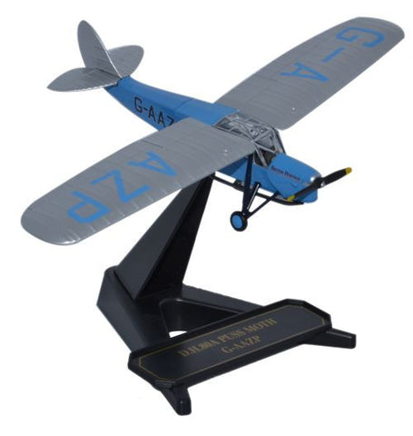Oxford Diecast DH Puss Moth G-AAZP 1:72 Model Aircraft