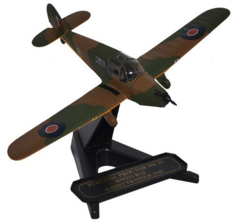 Oxford Diecast Percival Proctor RAF Radio Trainer 1:72 Model Aircraft